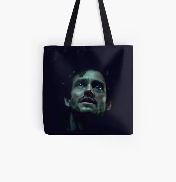 Will Graham Hannibal Digital Painting All Over Print Tote Bag