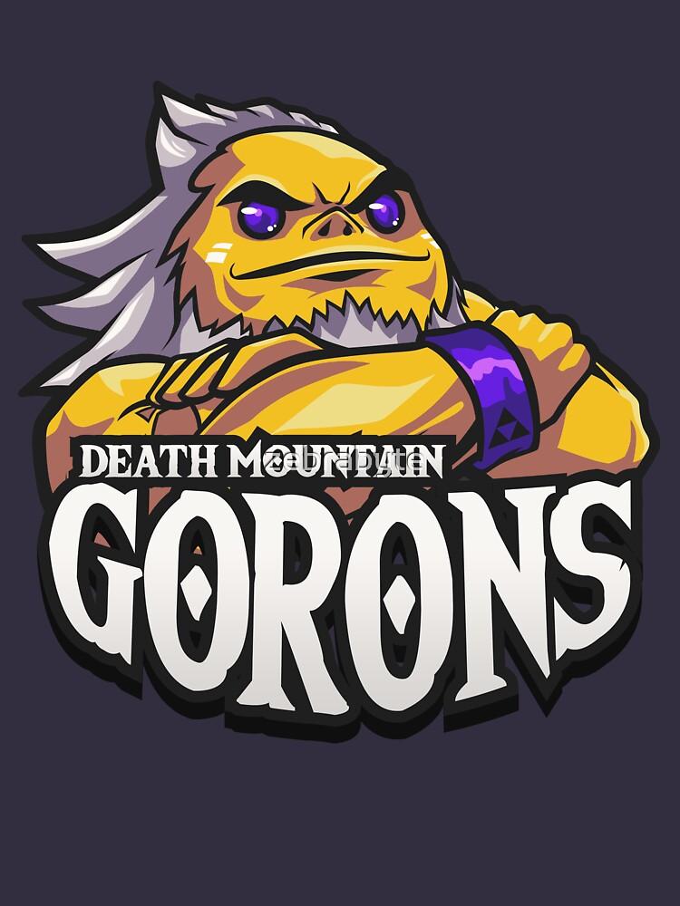 Death Mountain Gorons Ocarina Of Time von zebrabyte
