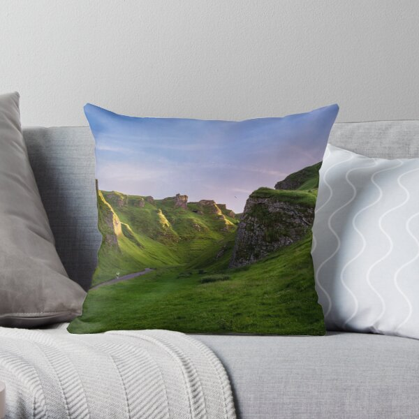 Winnats Pass Throw Pillow