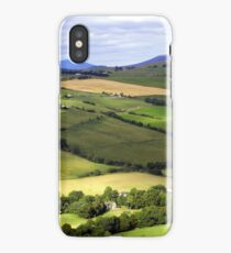 View from Knockfarrel Iron Age hillfort iPhone Case/Skin