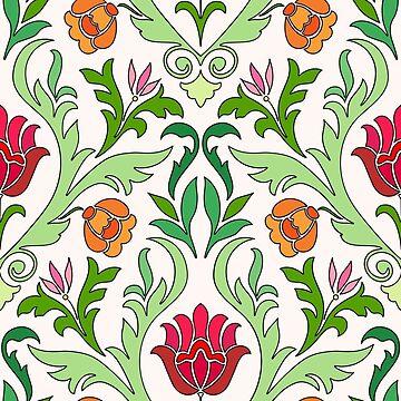 Vintage floral pattern  by Kerby664