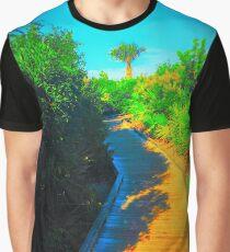 Gehweg Grafik T-Shirt