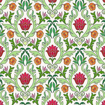 Vintage floral  by Kerby664