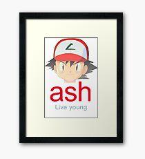Ash K. Framed Print
