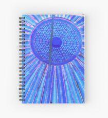 blue zen Spiral Notebook