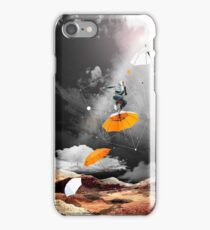JUST BEFORE THE RAIN OF RUST iPhone Case/Skin