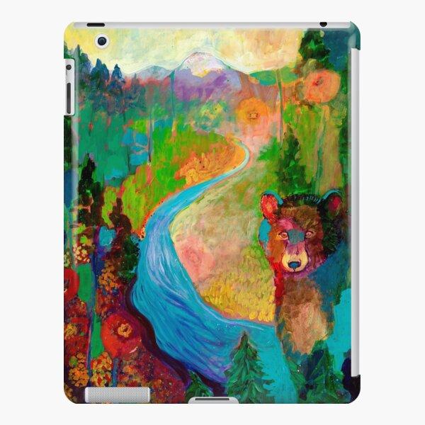 Bear and Mountain iPad Snap Case