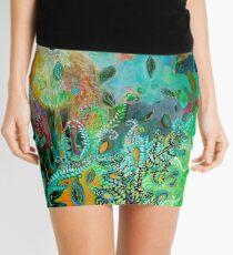 Fox in Forest Mini Skirt