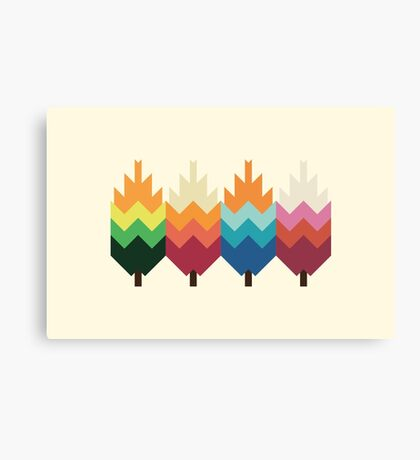 Bohemian Woods Canvas Print