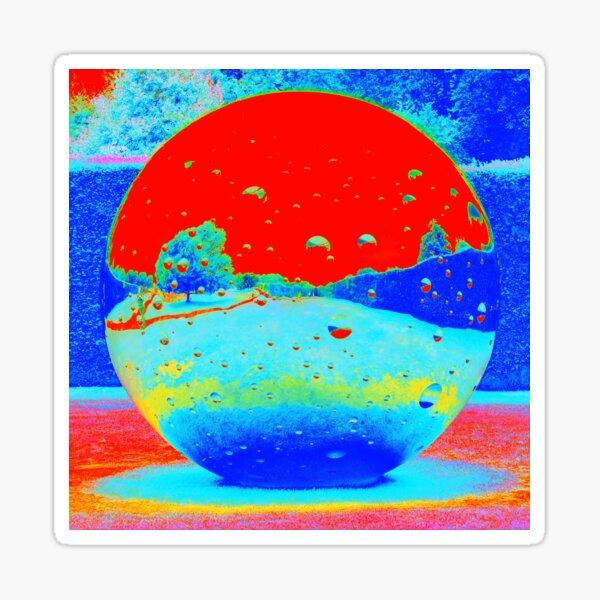 Electromagnetic Moon in Landscape Sticker