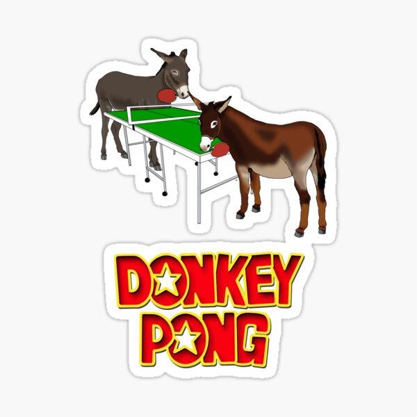 Donkey Pong Sticker