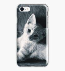 Peach in the barn iPhone Case/Skin