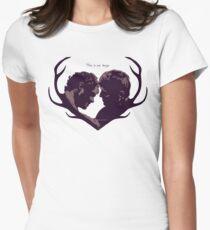 Murder Husbands Heart Design T-Shirt