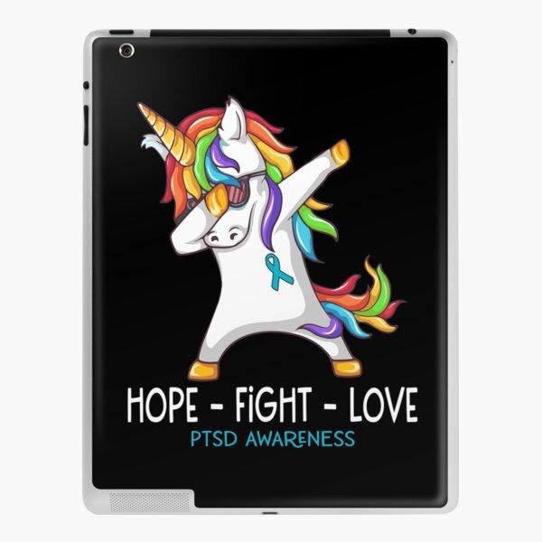 Hope Fight Love PTSD Awareness iPad Skin