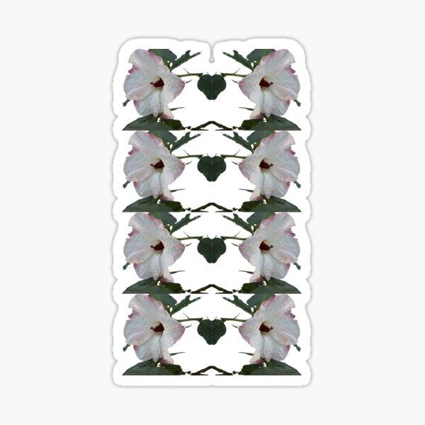 Native Australian Hibiscus Pattern Sticker