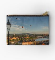 Balloons Over Bristol Harbourside Studio Pouch
