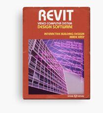 Revit 1981 for Atari 2600 Canvas Print