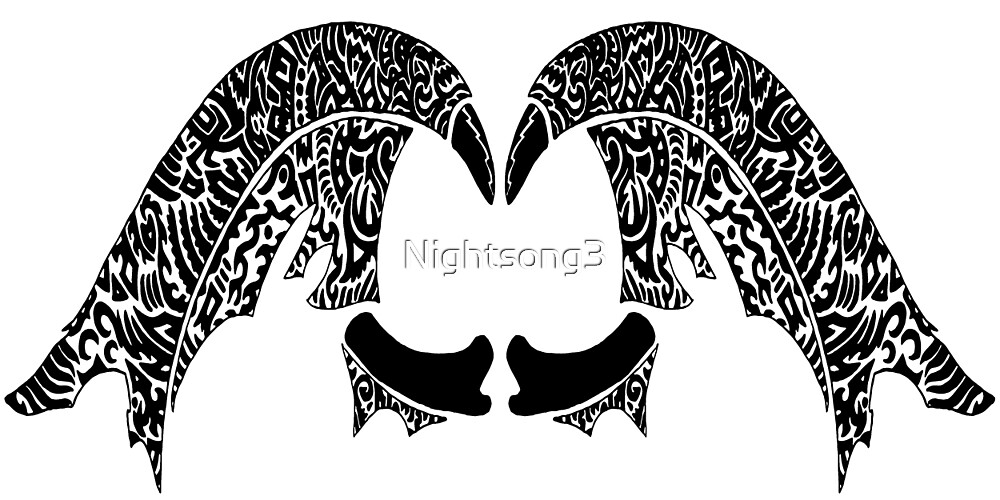 Tribal Wings by Nightsong3