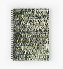 Sagrada Familia, Barcelona Spiral Notebook