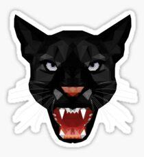 Katze Leopard Puma / Panther Gesicht Sticker