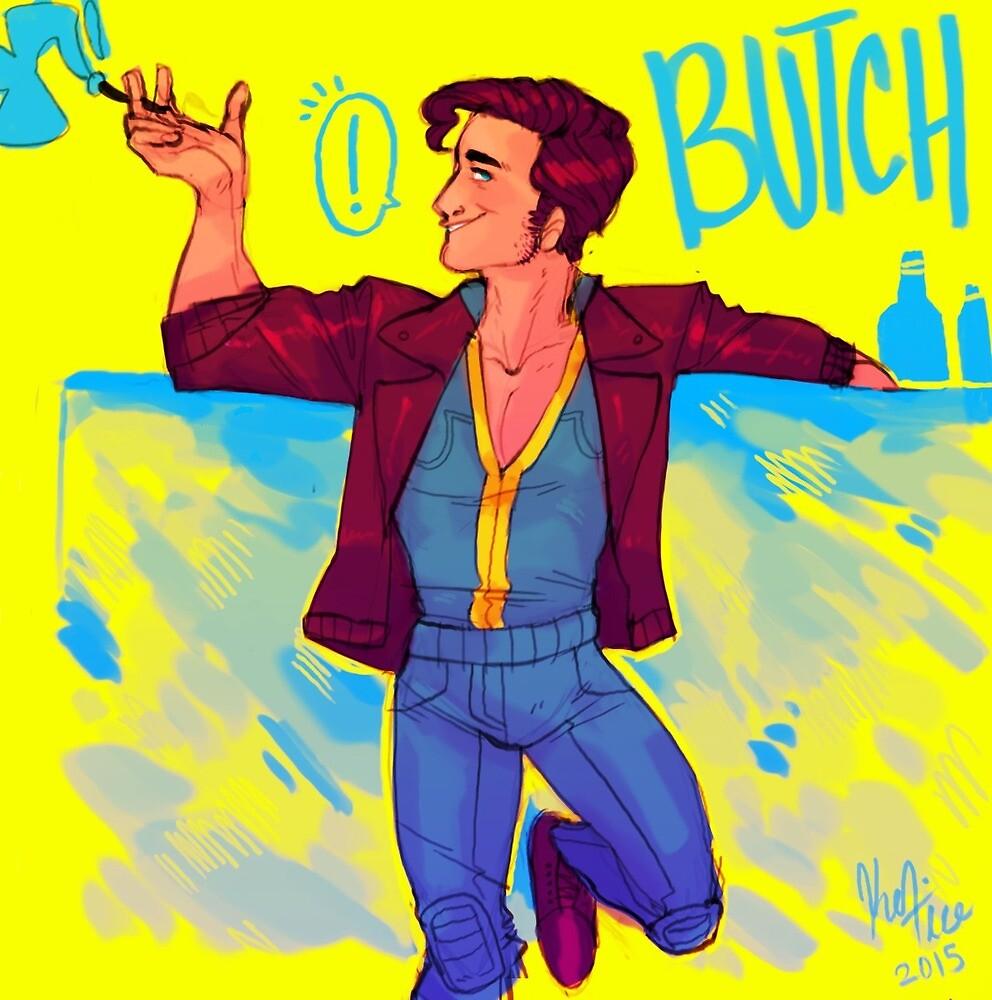 Butch DeLoria! by peachsnakes