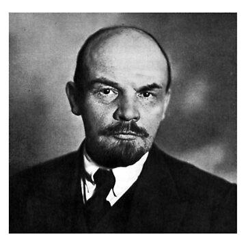 Vladimir Lenin (Portrait) by MRedfern