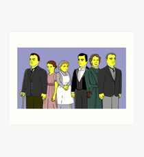 Downton Abbey - Downstairs Six Art Print