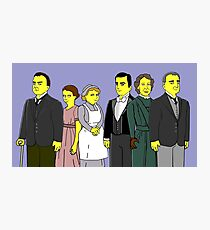 Downton Abbey - Downstairs Six Photographic Print