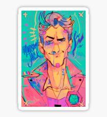 Handsome Jack portrait  Sticker