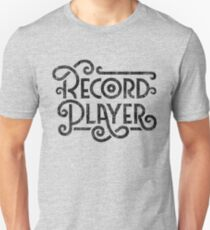 Record Player Mono Unisex T-Shirt