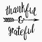 Dankbar und Dankbar von PraiseQuotes