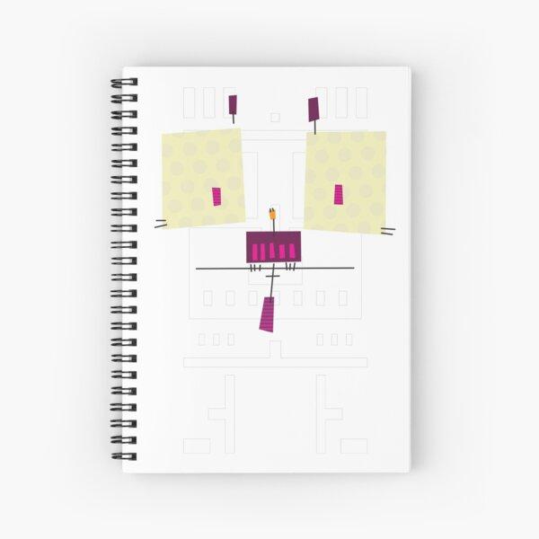 #04 - The Cute Owl Spiral Notebook