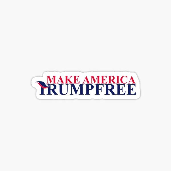 Make America Trump Free Sticker
