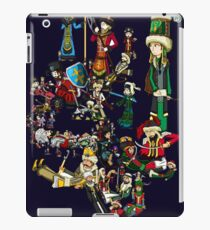 Renaissace Eastern Europe National Personifications Map iPad Case/Skin