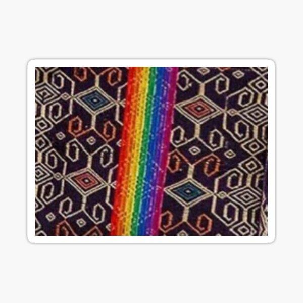 design rainbow colors Sticker