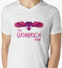 Grimerica Show Art by listener Caley C without Background Men's V-Neck T-Shirt