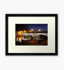 Bridge of Triana Framed Print