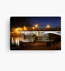 Bridge of Triana Canvas Print