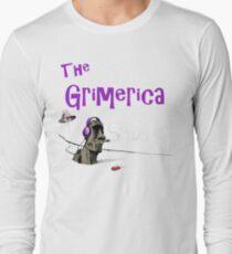 Klassisches Grimerica Logo Kein Hintergrund Langarmshirt