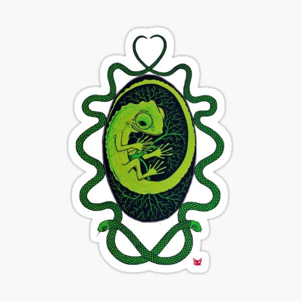 Chameleon Egg Sticker