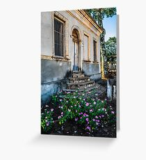 countryside home Greeting Card