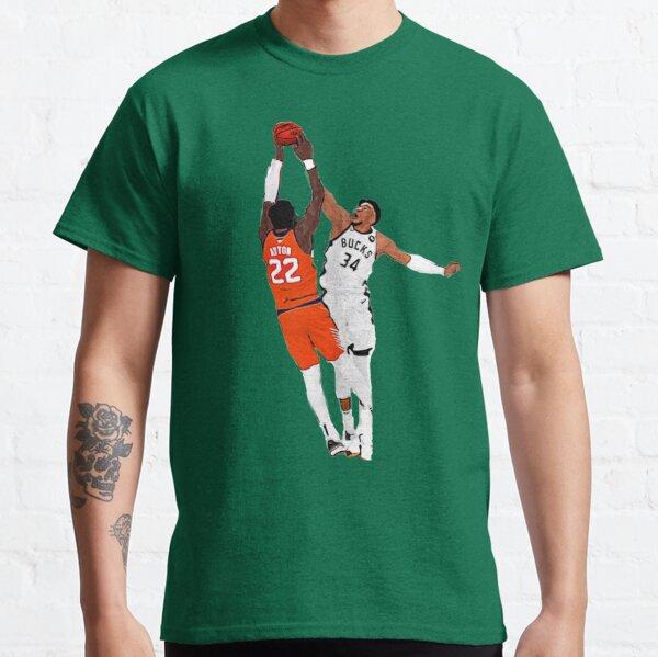 Giannis Antetokounmpo 'Game Saving Block' Art Classic T-Shirt
