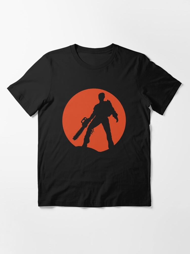 Alternate view of Ash vs The Evil Dead (Red) Essential T-Shirt