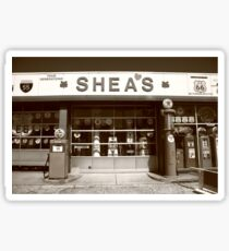 Route 66 - Shea's Filling Station Sticker