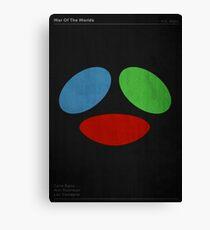 War Of The Worlds - Minimalist Print Canvas Print