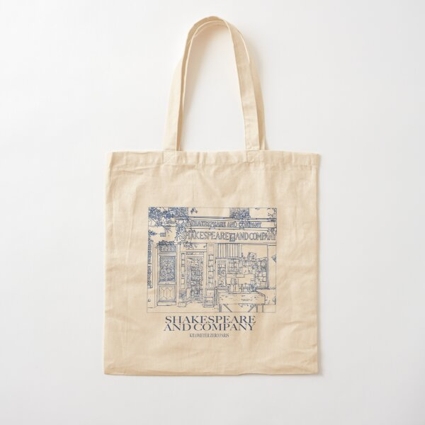 Shakespeare and company Cotton Tote Bag