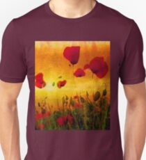 Poppy Sunset Unisex T-Shirt