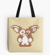 """Gremlins """"Don't Feed After Midnight."""" Gizmo Movie 8-bit Tote Bag"""