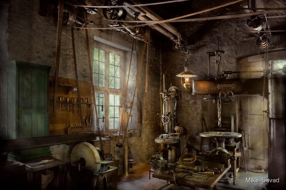 Machinist - Industrial revolution by Michael Savad