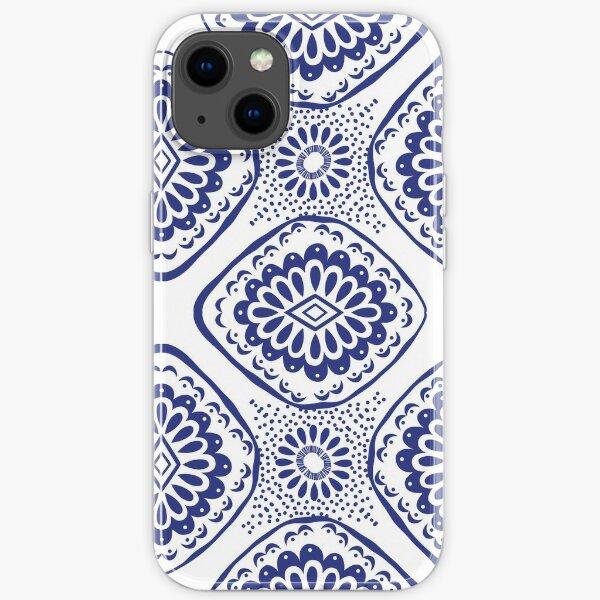 Seamless pattern ethnic, aztec, ikat. iPhone Soft Case